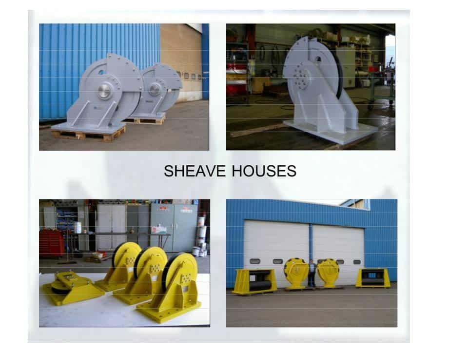 Overlasko - metaal - sheave house - assembleren